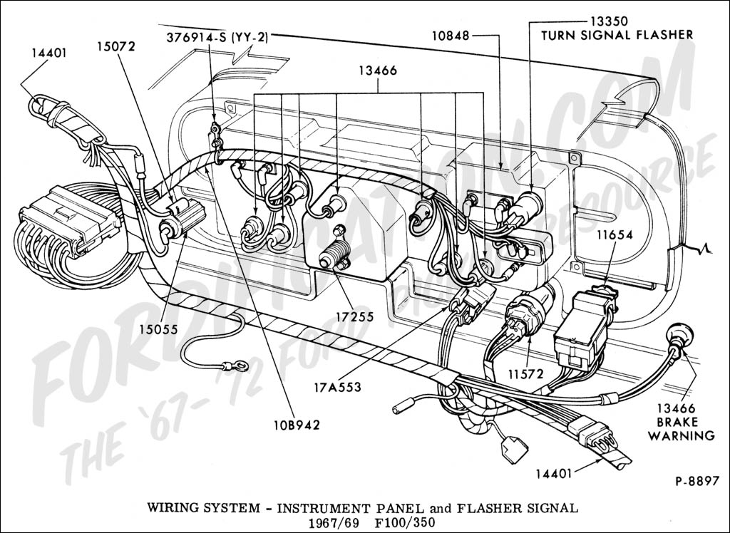 ford f100 wiring diagrams TEFspDQ 1964 ford f100 wiring diagram image details 1971 ford f100 ignition switch wiring diagram at aneh.co