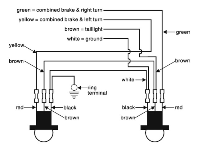 Ford F150 Tail Light Wiring Diagram for 2012