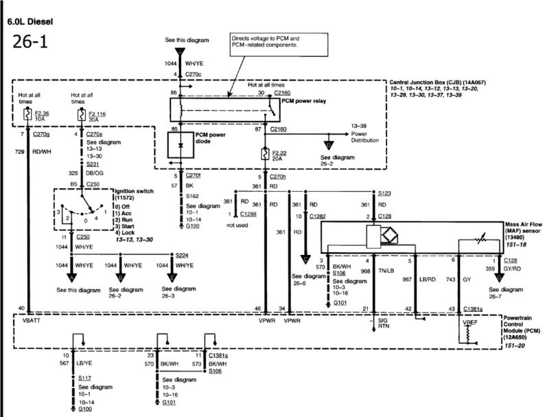 wiring diagram for 1999 ford ranger