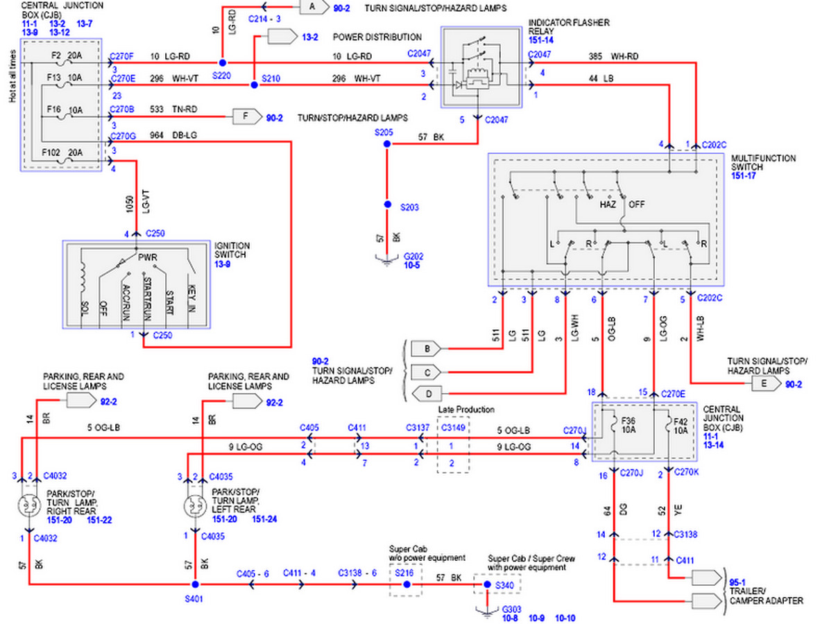 Tail Light Wiring Diagram Ford | Wiring Diagram on ford f250 headlight assembly diagram, chevy silverado headlight wiring diagram, dodge ram 3500 headlight wiring diagram,