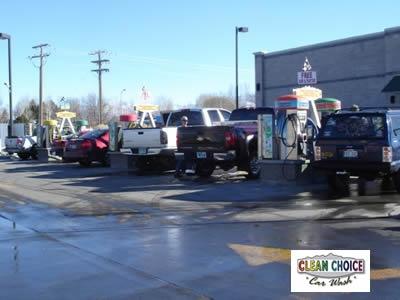 Free Car Wash with Vacuum