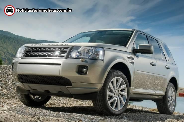 Freelander 2: Land Rover Freelander 2 2011 aparece com fecelift