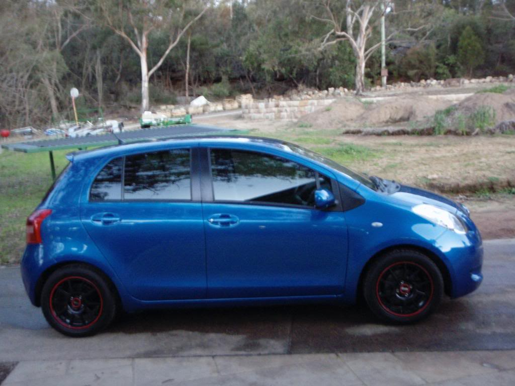 "FS.15"" Black rims  Toyota Yaris Forums  Ultimate Yaris Enthusiast"