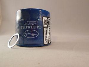 Genuine Subaru Oil Filters Blue 15208AA12A x 1 w Crush Ring   eBay