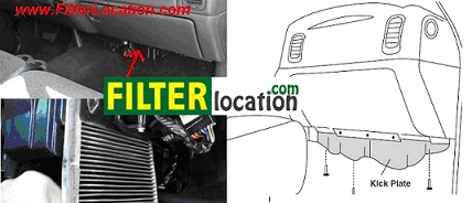 GMC Sierra Cabin Air Filter Location
