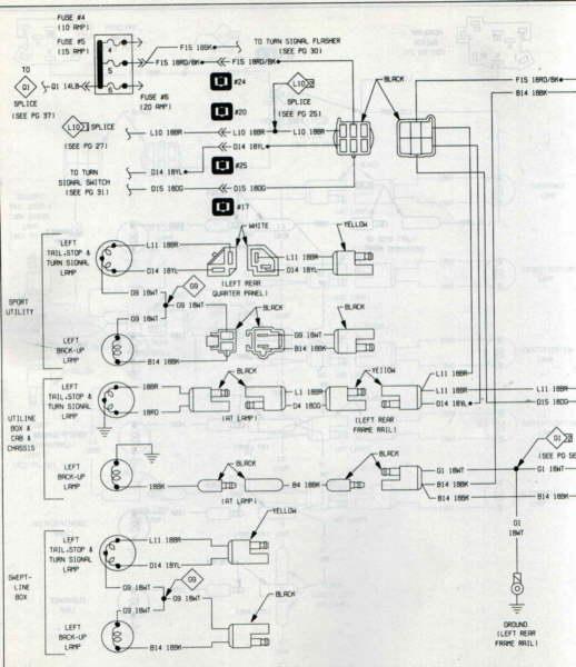 Harley Tail Light Wiring Diagram
