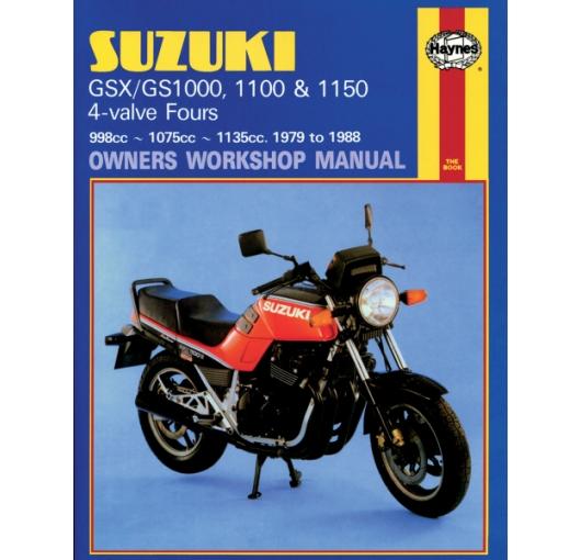 haynes motorcycle repair manuals manual gs1000 1100 1150. Black Bedroom Furniture Sets. Home Design Ideas