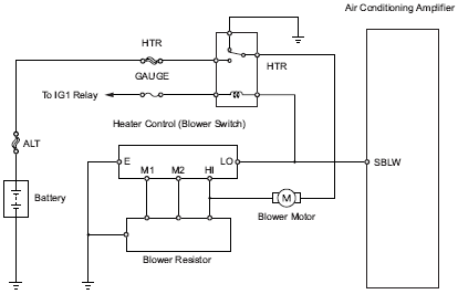 Heater Blower Motor Wiring Diagram