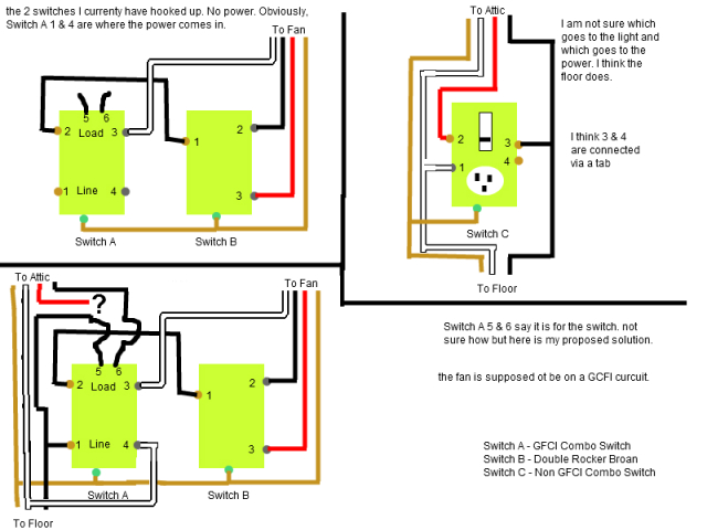 gfci wiring diagram home free download wiring diagrams schematics Wiring a GFCI with Switch 12 2 Wiring Diagram