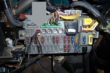 Honda Civic Fuse Box
