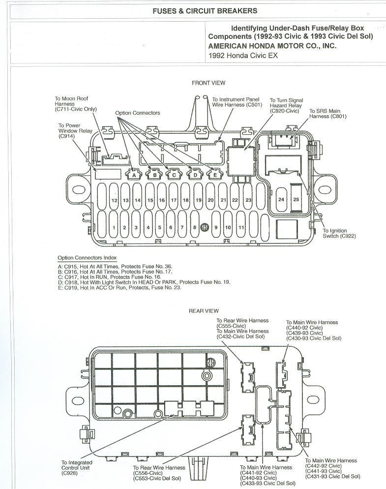 honda civic fuse box diagram EbkDJyV honda civic fuse box diagram image details