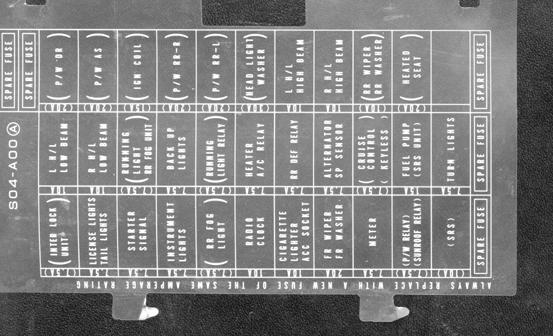 S2000 Under Dash Fuse Box : Honda civic si fuse box auto wiring diagram