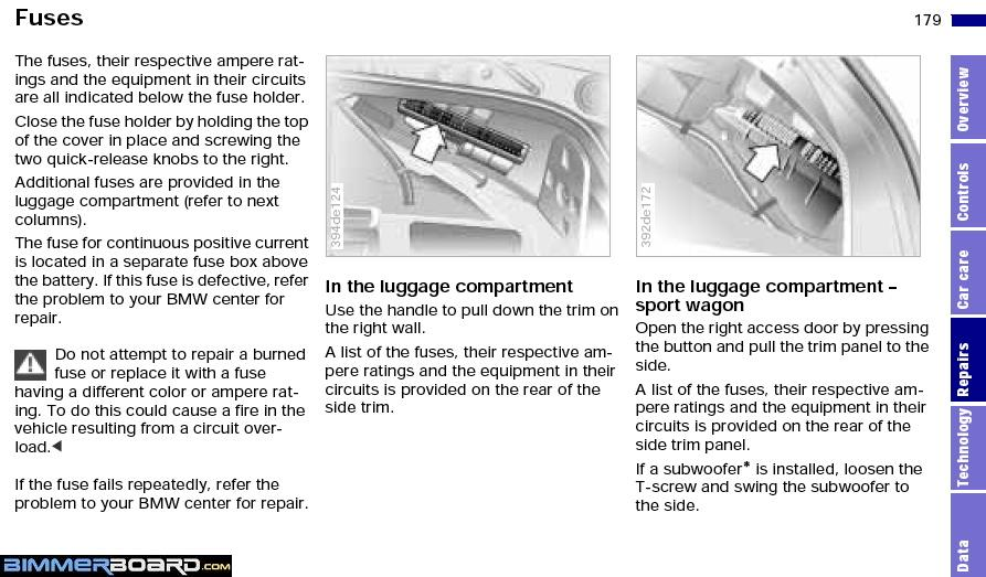 bmw e39 fuse box diagram bmw wiring diagrams online