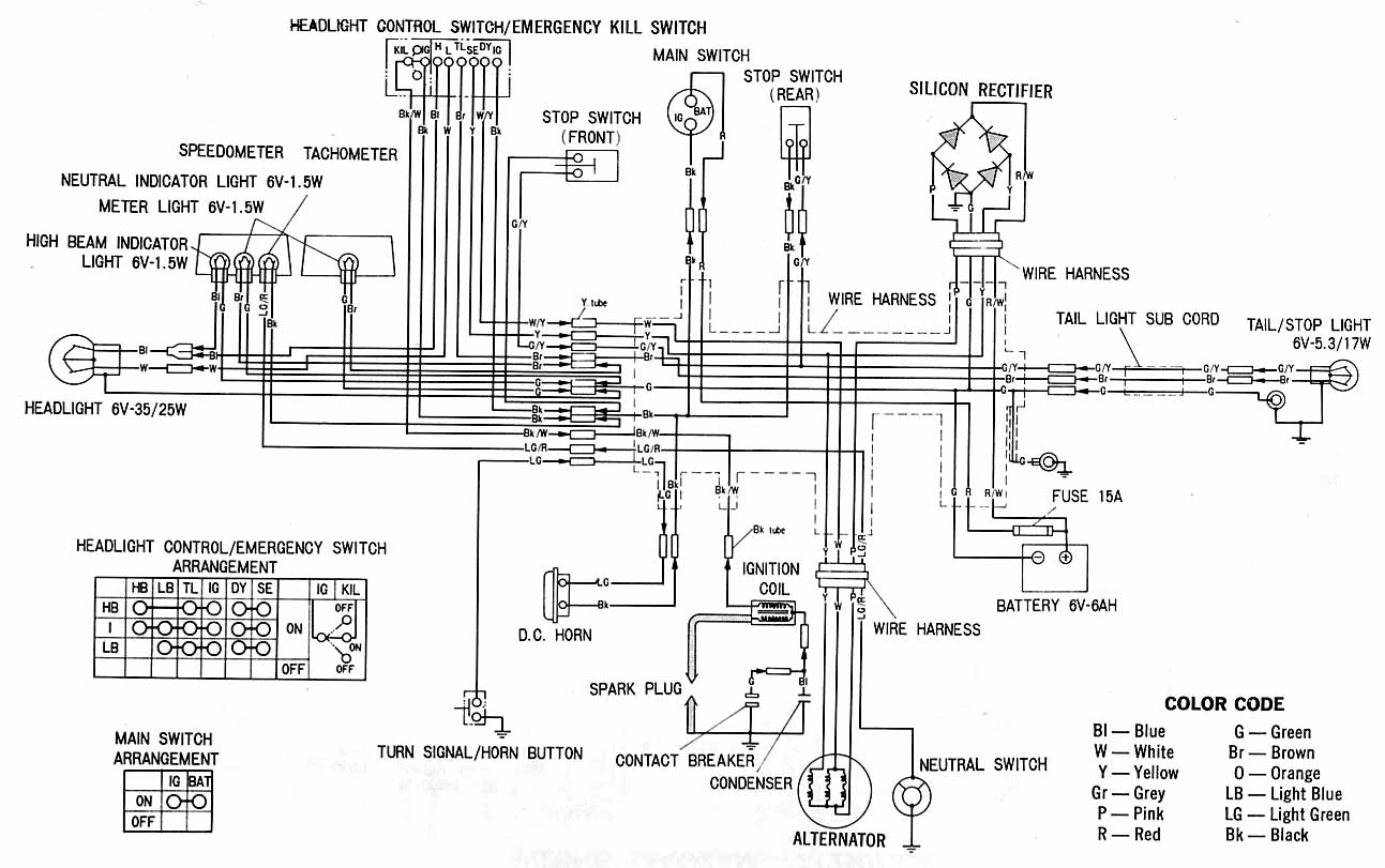 Honda Motorcycle Wiring Diagrams Image Details Motorcycles Shadow 500 Diagram Find