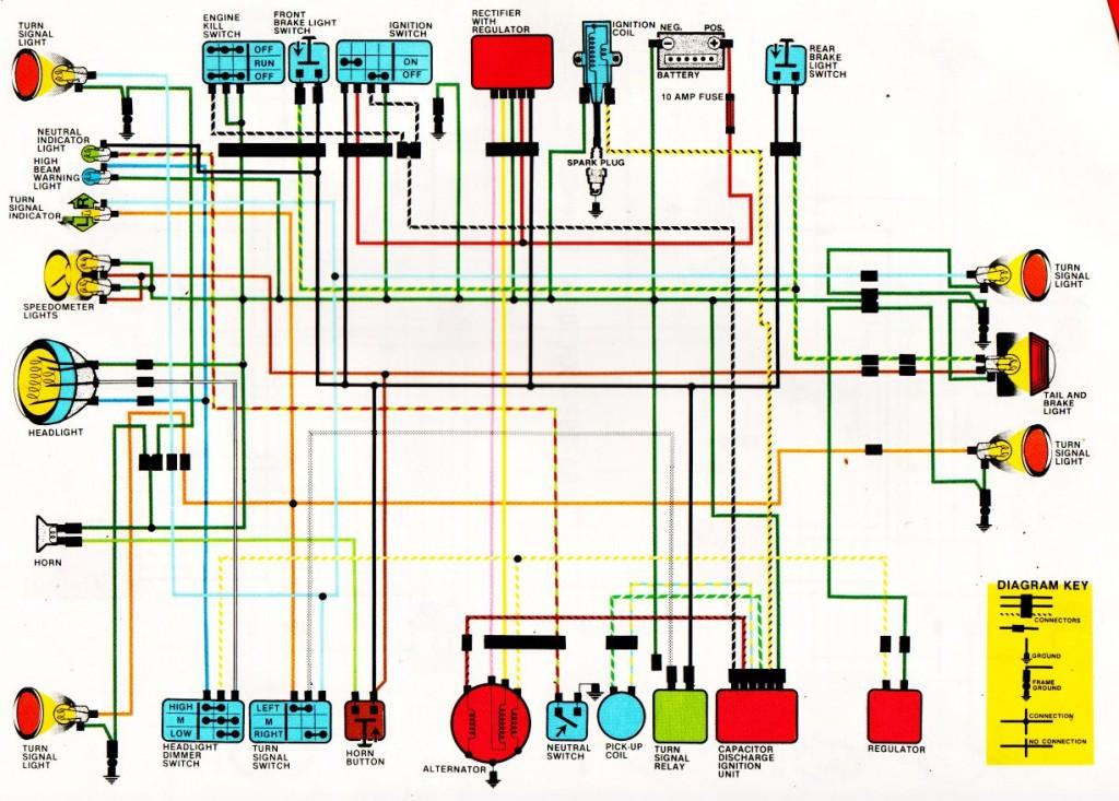 Honda Motorcycle Wiring Diagrams Image Details