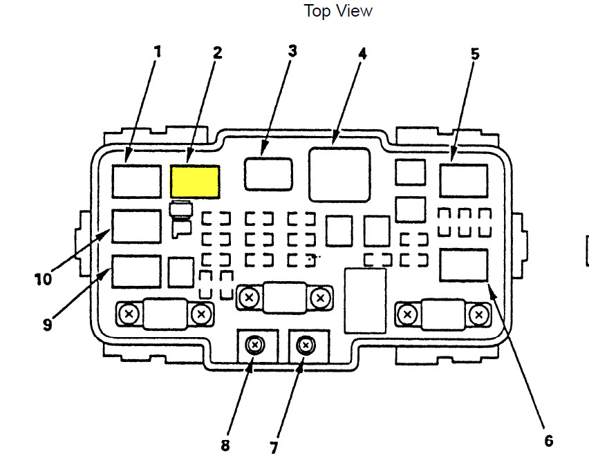 honda ridgeline fuse box diagram bMgjeSr honda ridgeline fuse box diagram image details Honda Ridgeline Interior Lights Not Working Fuse Box Radio Lights at n-0.co