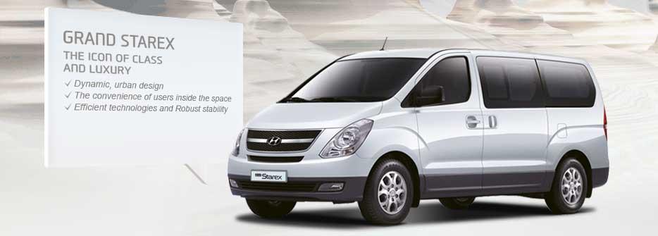 Hyundai Grand Starex Interior