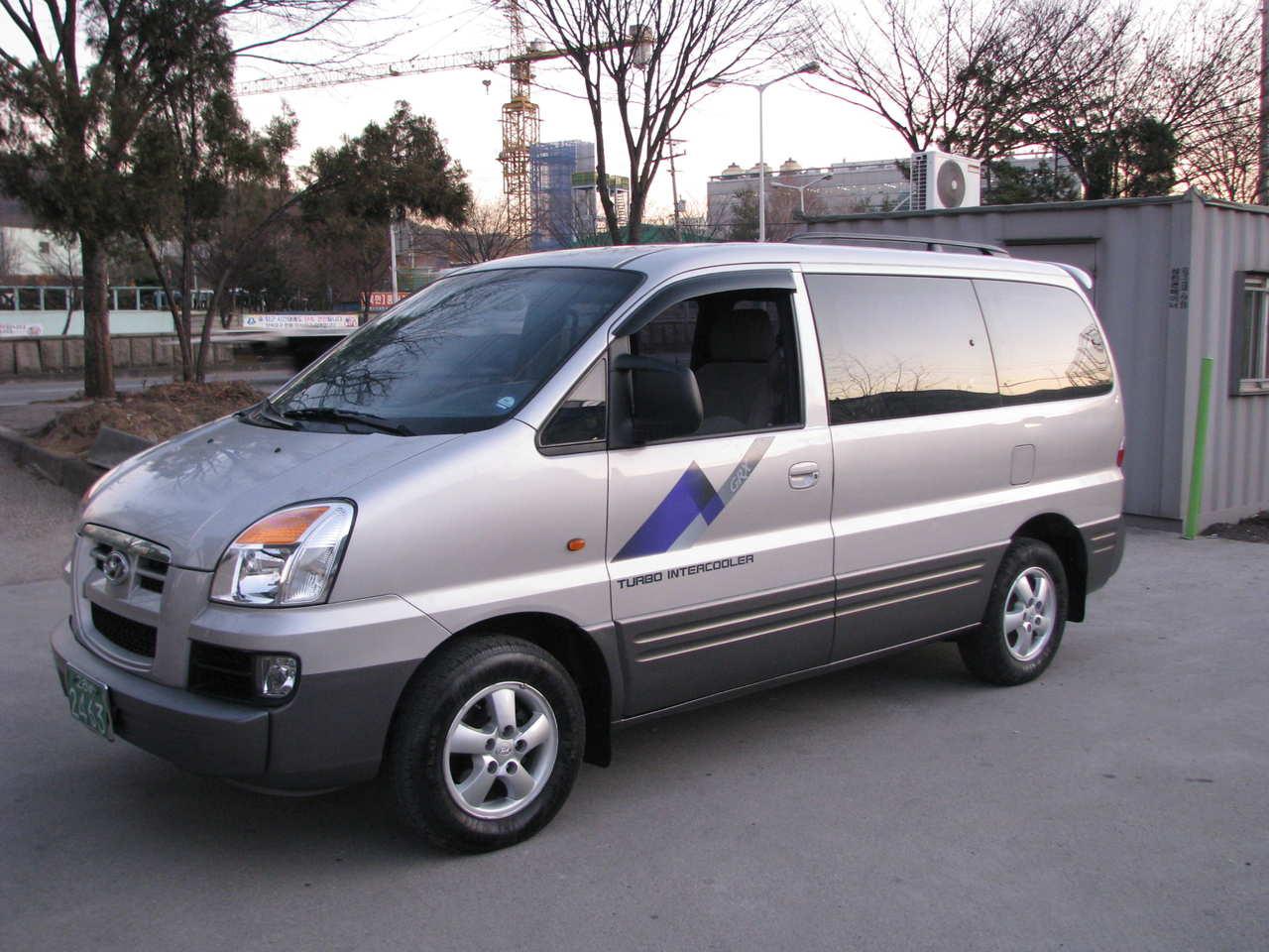 Hyundai H1 Van Interior
