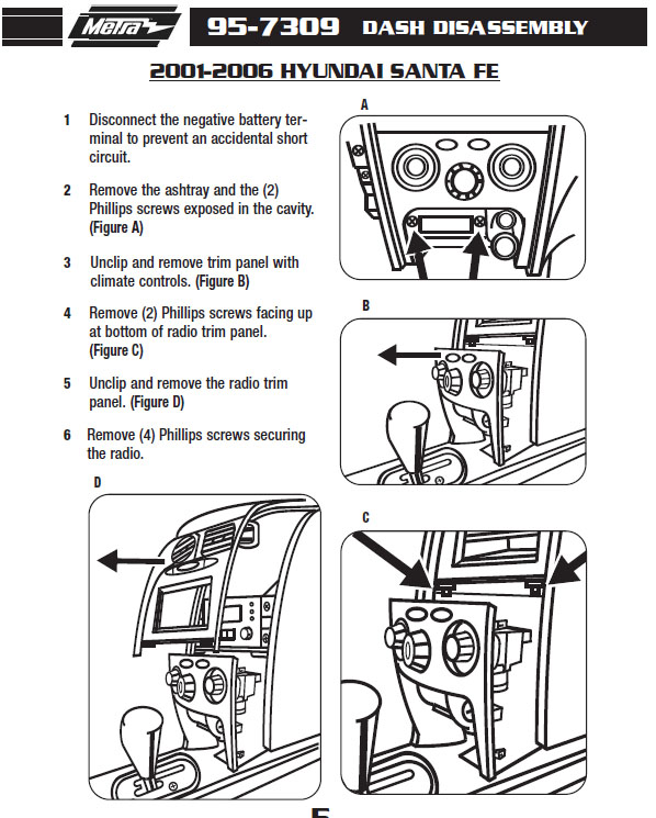 hyundai santa fe radio wiring diagram