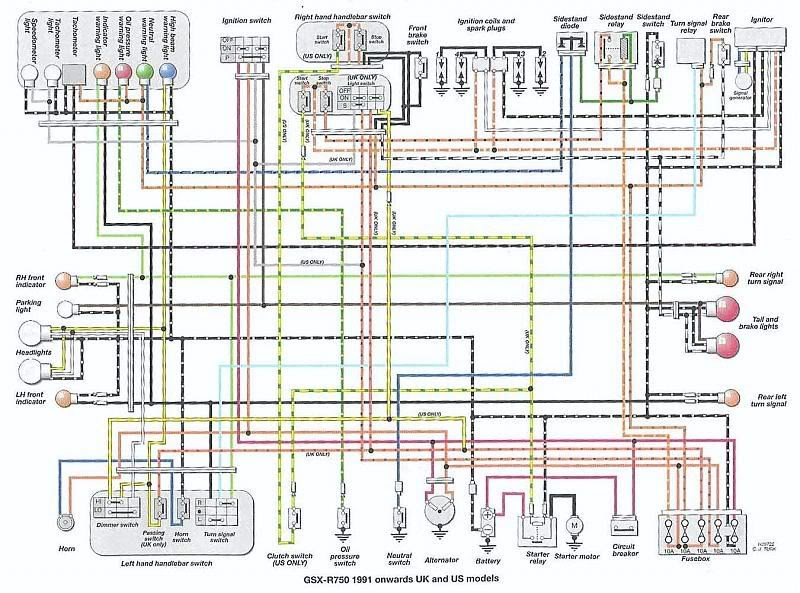 gsxr wiring diagram wiring diagrams online