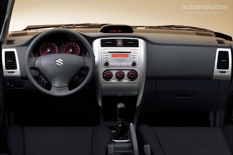 Image: 2007 Suzuki Aerio 4door Sedan Man FWD Dashboard, size: 640 x