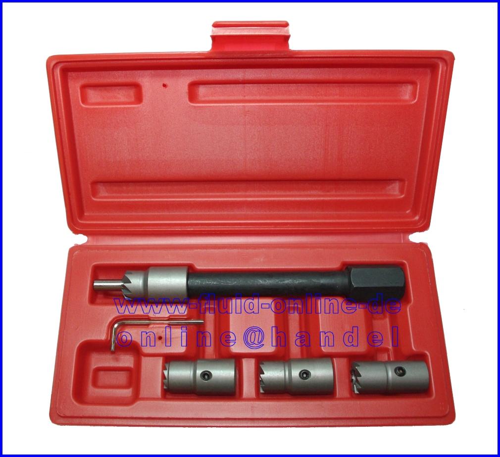 Injektoren Dichtsitz für CDI Motoren 5 tlg Fräsersatz im Koffer NEU
