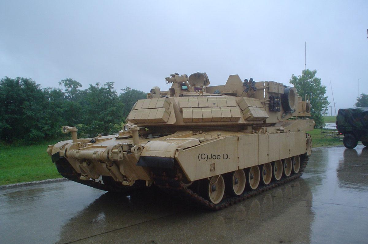 Inside Abrams Tank