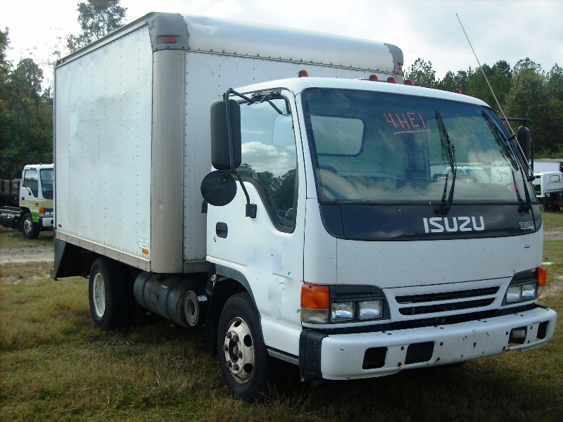 Isuzu NPR Sweeper Truck