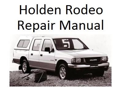 Isuzu Rodeo Repair Manual Diagram