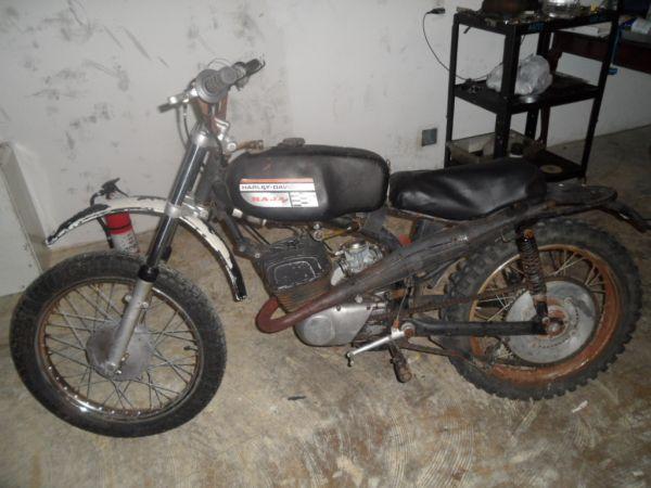 Italian HarleyDavidson Dirt Bike