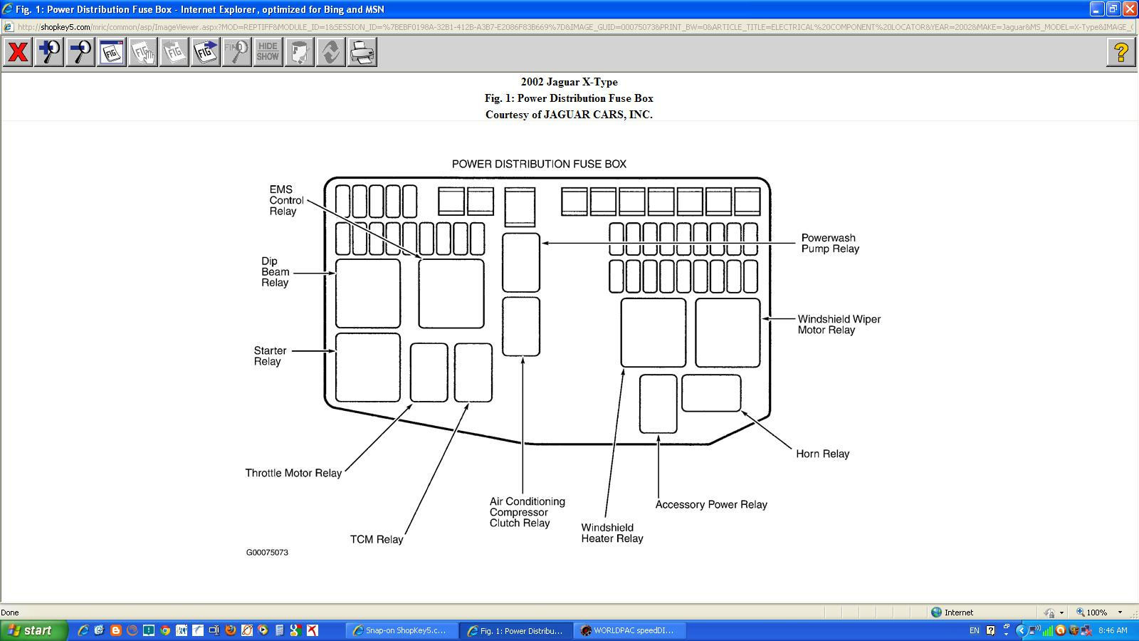 Jaguar S Type Fuse Box Location 2003 X Central Junction Diagram