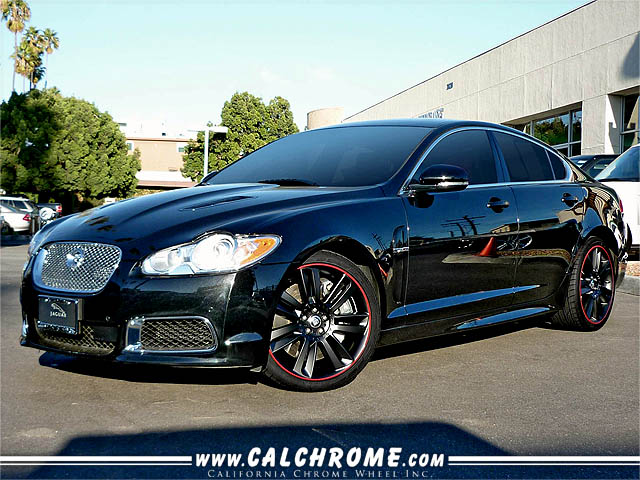Jaguar XF with Custom Wheels