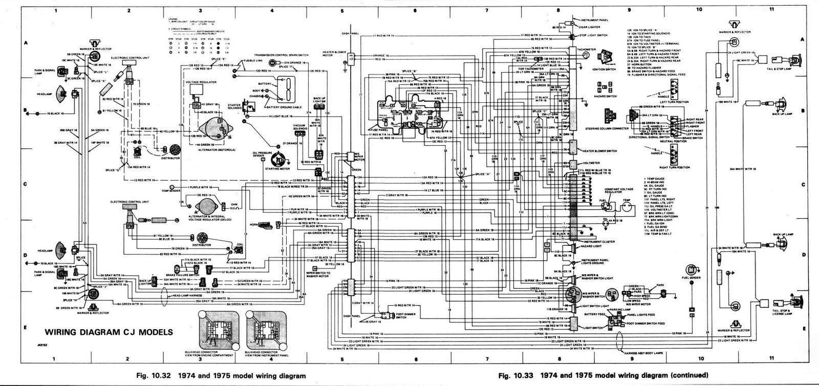jeep cj wiringdiagram image details rh motogurumag com M38 Jeep Wiring Diagram M38 Jeep Wiring Diagram
