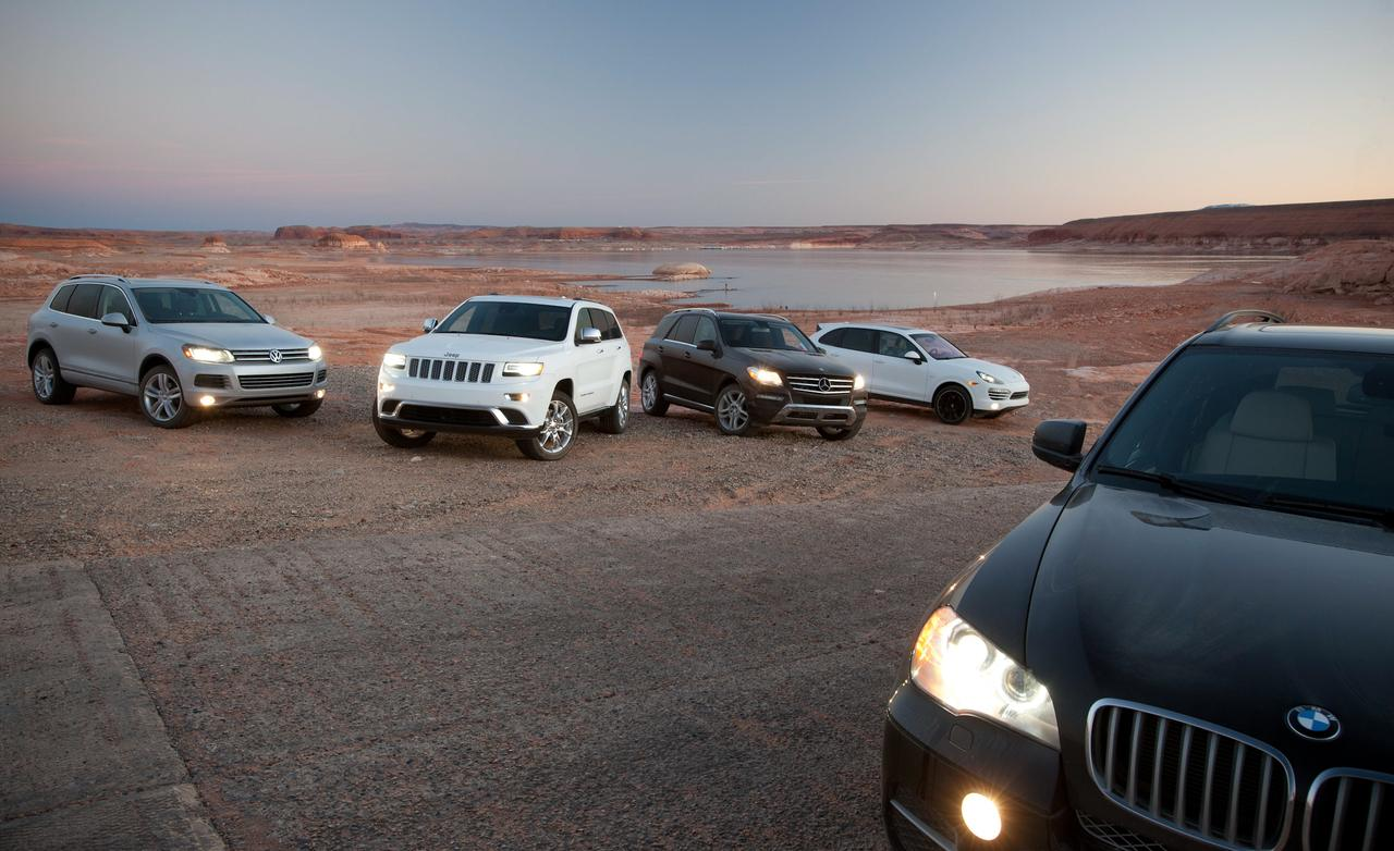 Jeep Grand Cherokee 2013 vs 2014