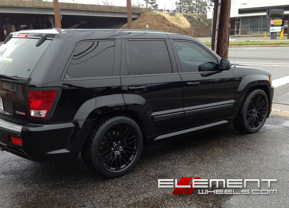Jeep Grand Cherokee Srt8 Black Rims Image Details
