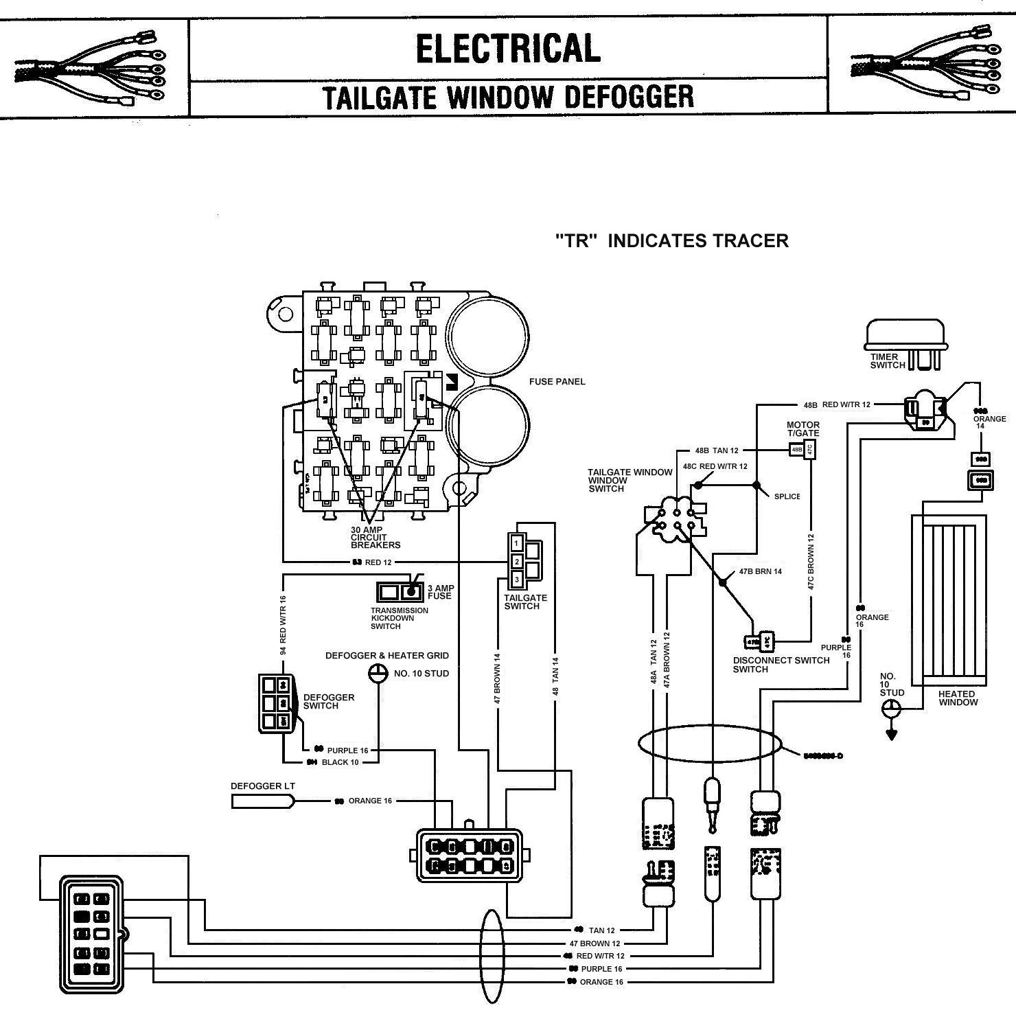 2001 Toyota Camry Rear Window Defroster Schematic Wiring Diagram Jeep Grand Wagoneer Wiringdiagram Details