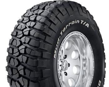 Jeep Wrangler BFGoodrich Mud Tires
