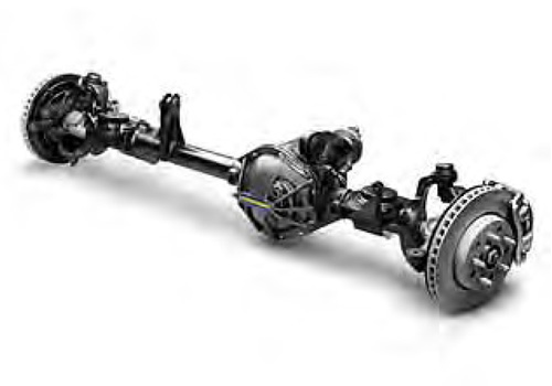 Jeep Wrangler Front Axle Assembly