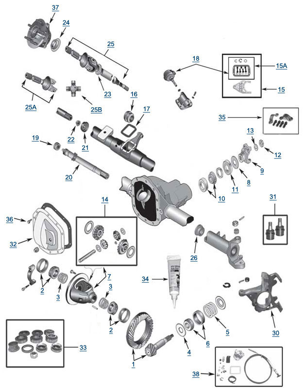 2015 jeep wrangler suspension diagram