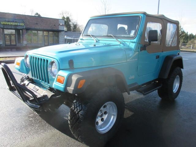 Jeep Wrangler Se 1997   Mitula Cars