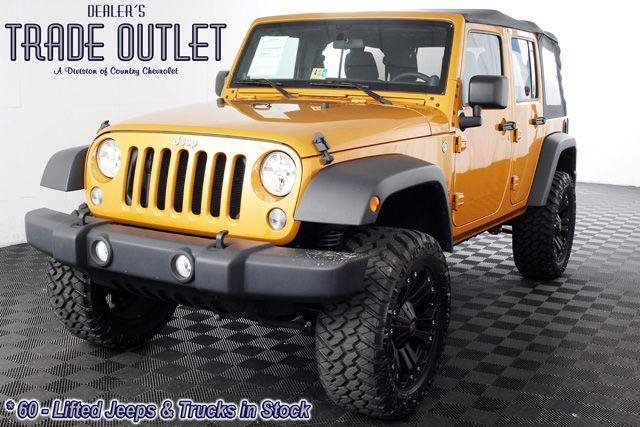 Jeep Wrangler with 35 Inch Tires