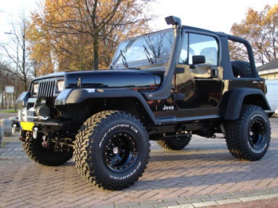 Black Wheels for Jeep Wrangler Jk  image detai