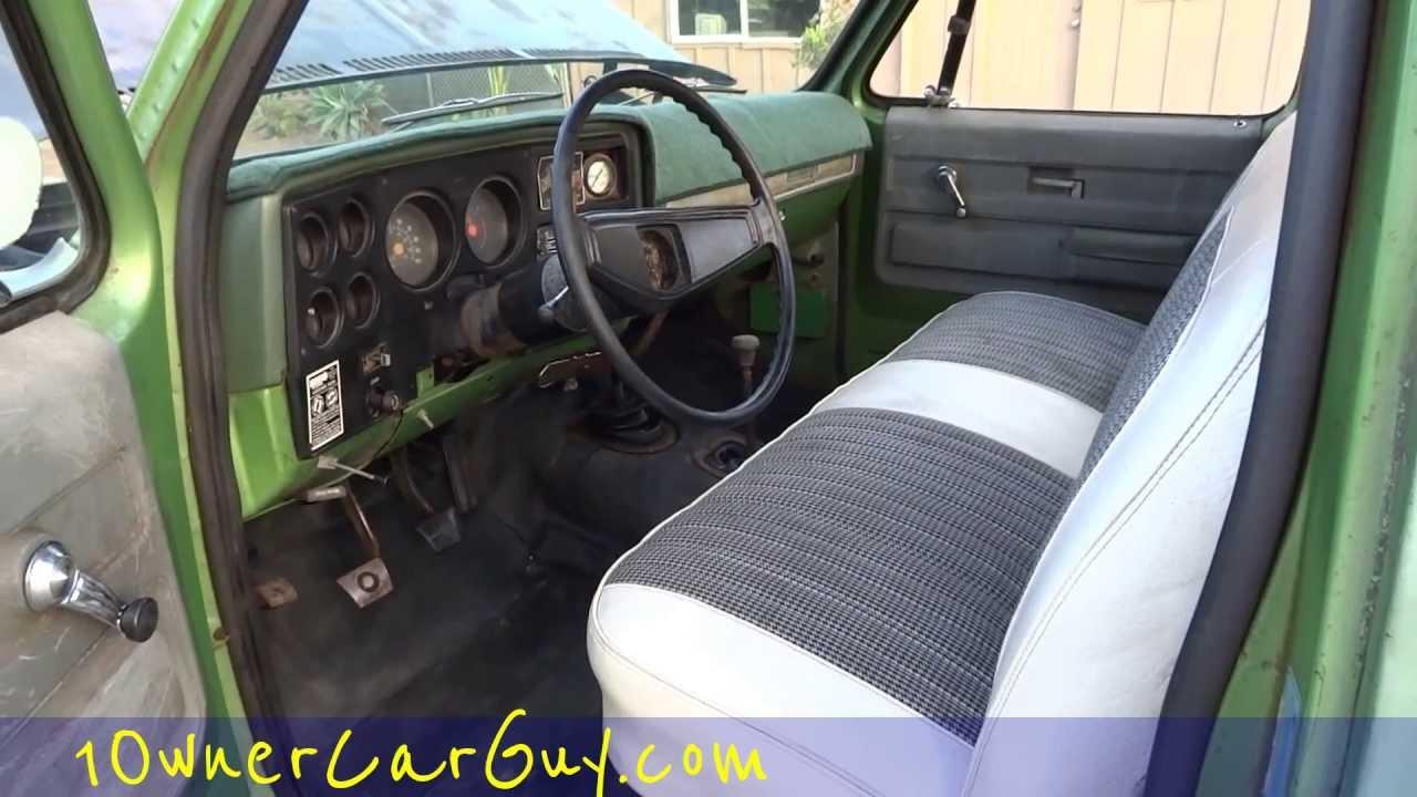 K10 Chevy Truck Custom Interior