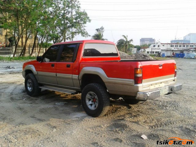 L200 Mitsubishi Strada 2003 Model Owners Manual | Coloring Anything