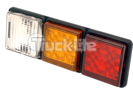 LED truck tail light bar Rear Direction stop lamp with bulleye pattern