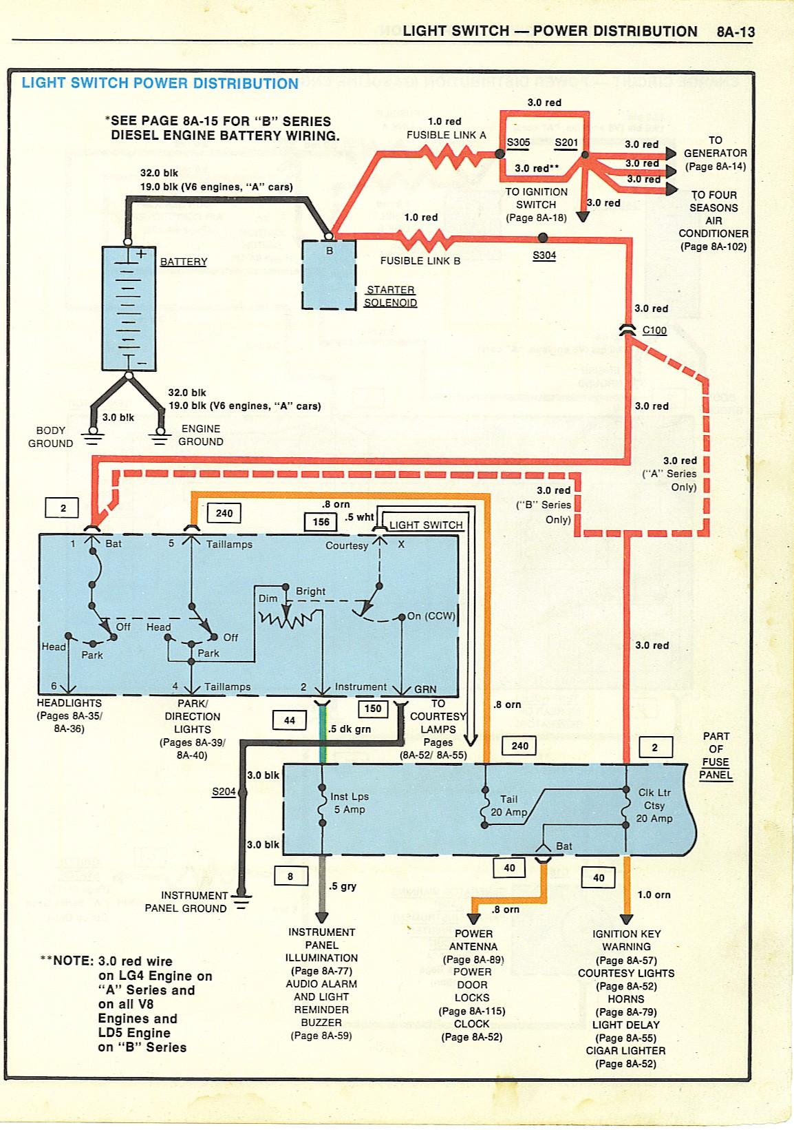 Jeep CJ7 Light Switch Wiring Diagram image details – Light Switch Wire Diagram For Cj7