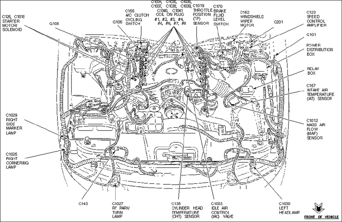 1998 Honda Passport Fuse Box Diagram on 1995 Ford Probe Wiring Diagram