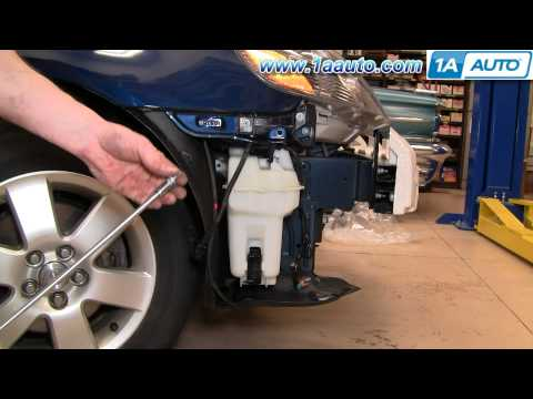 Location of 2008 Toyota Corolla Windshield Washer Pump