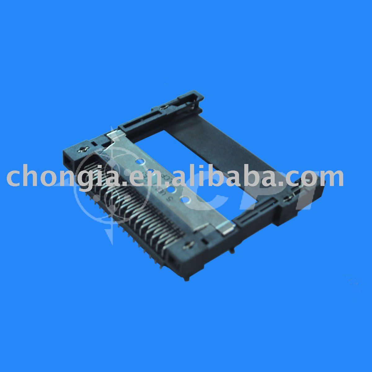Male PCMCIA without ejector socket, View PCMCIA Connector, CPI Product