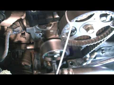 Mazda Miata Timing Belt Marks